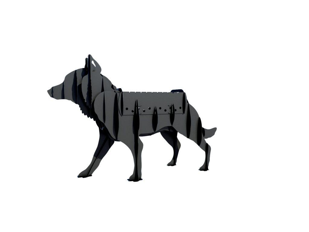 Мангал Волк v2